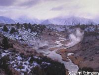 Hot Creek in Mammoth